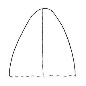 Obtuse:|:鈍圓的:|:钝圆的